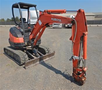 2015 Kubota U25-3S Mini Excavator