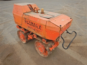 Rammax RW1504HF Padfoot Trench Compactor