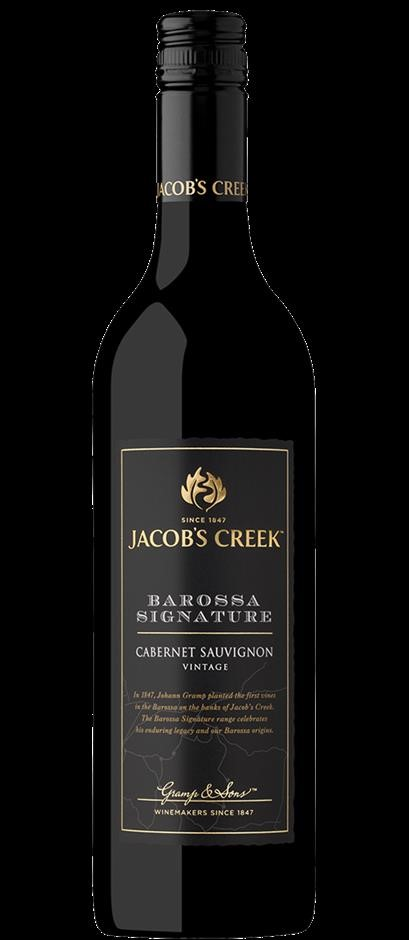 Jacobs Creek Barossa Signature Cabernet Sauvignon 2018 (6 x 750mL), SA.