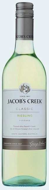 Jacobs Creek Classic Riesling 2019 (12 x 750mL), SE, AUS.