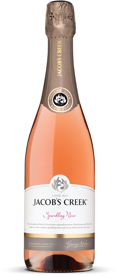 Jacobs Creek Classic Sparkling Rose NV (6 x 750mL), SE AUS.