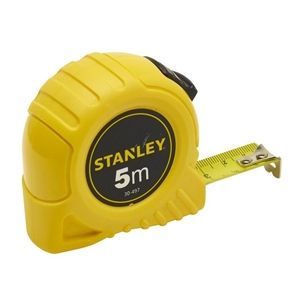 2 x STANLEY 5M x 19mm Measuring Tapes AB