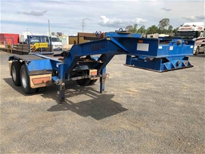 SES Trailers 2 x 4 Float Dolly