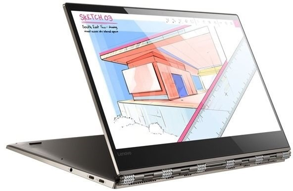 Lenovo Yoga 920-13IKB 13.9-inch Notebook, Bronze