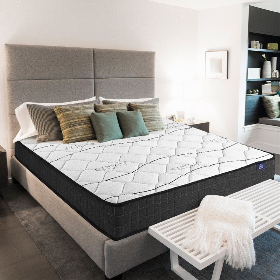 Giselle Bedding Single Mattress Bed Medium Firm Foam Bonnell Spring 16cm