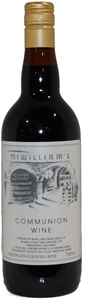 McWilliam's Fortified Communion Wine NV