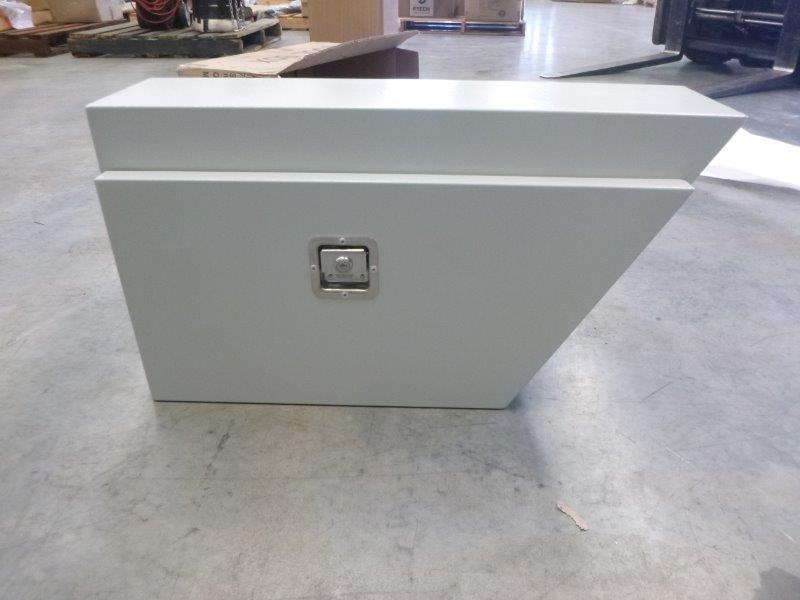 Under Tray Body Powder Coated White Toolbox (Bid Price Per Toolbox)