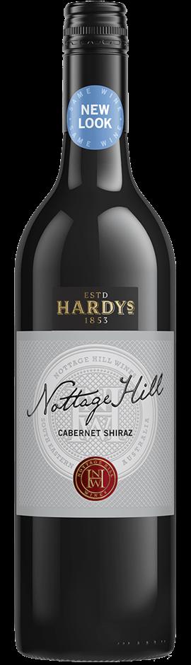 Hardys `Nottage Hill` Cabernet Shiraz 2018 (6 x 750mL), SE AUS.