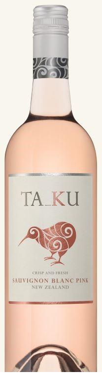 Ta_Ku `Pink` Sauvignon Blanc 2018 (6 x 750mL), Marlborough, NZ.