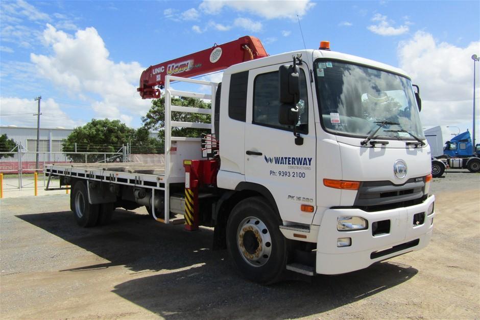 2016 U.D. Condor PK 4 x 2 Crane Truck