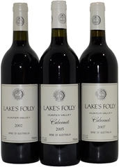 Pack of Assorted Lakes Folly Cabernets  (3x 750mL)