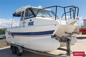 Marlin Broadbill 7.5 Half Cabin Cruiser