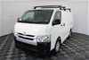 2014 (2015) Toyota Hiace LWB Turbo Diesel Automatic Van 135,801km