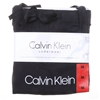 CALVIN KLEIN Women`s 2pc Sleepwear Set, Size M, Cotton/Elastane, Light Grey