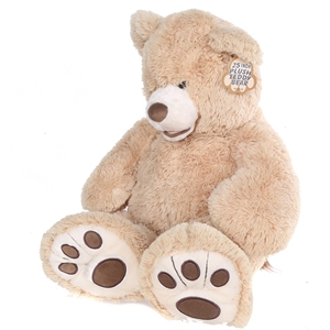 HUGFUN 25inch Plush Teddy Bear. (SN:CC54