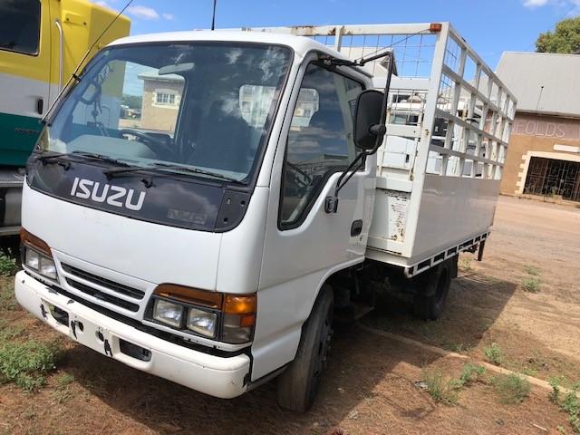 1995 Isuzu NKR 4 x 2 Tray Body Truck