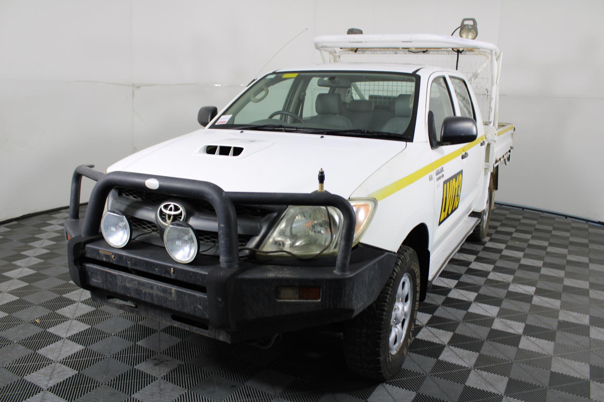 2008 Toyota Hilux SR (4x4) KUN26R Turbo Diesel Dual Cab