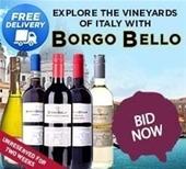 Italian Feat BORGO BELLO ~ FREE FREIGHT
