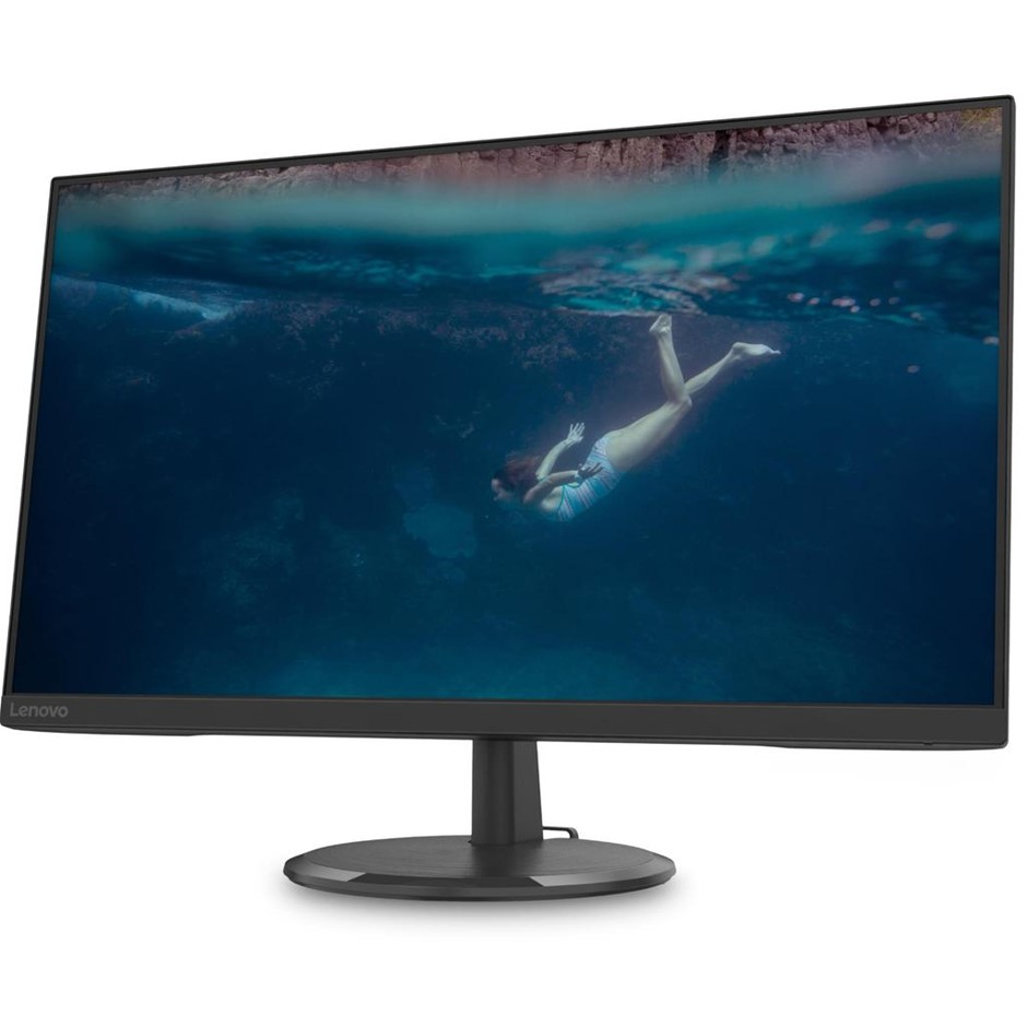 Lenovo D27-20 27-inch Full HD IPS WLED Monitor, Black