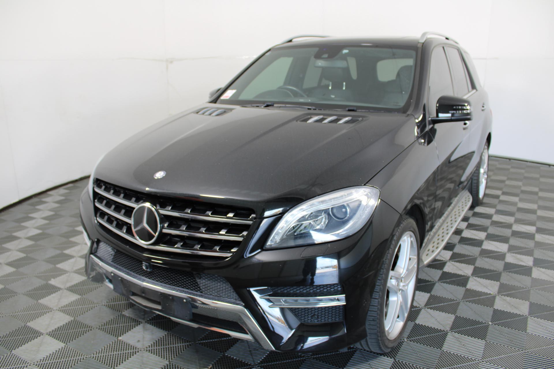 2015 Mercedes Benz ML350 BlueTEC W166 V6 T/Diesel Auto Wagon 83,972km