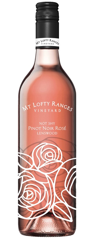 Mt Lofty Not Shy Pinot Rose 2017 (12x 750mL). Adelaide Hills, SA