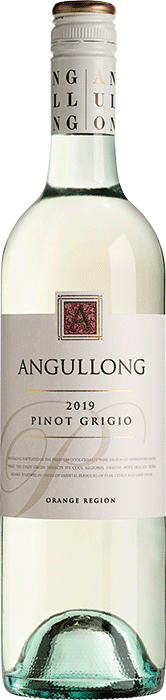 Angullong A Pinot Grigio 2018 (12x 750mL). Orange, NSW