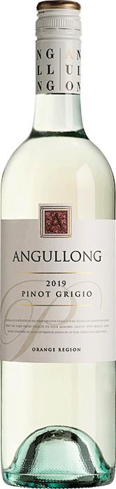 Angullong A Pinot Grigio 2018 (12x 750mL). Orange, NSW