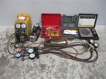 Qty 9 x Air Conditioning Testing Components