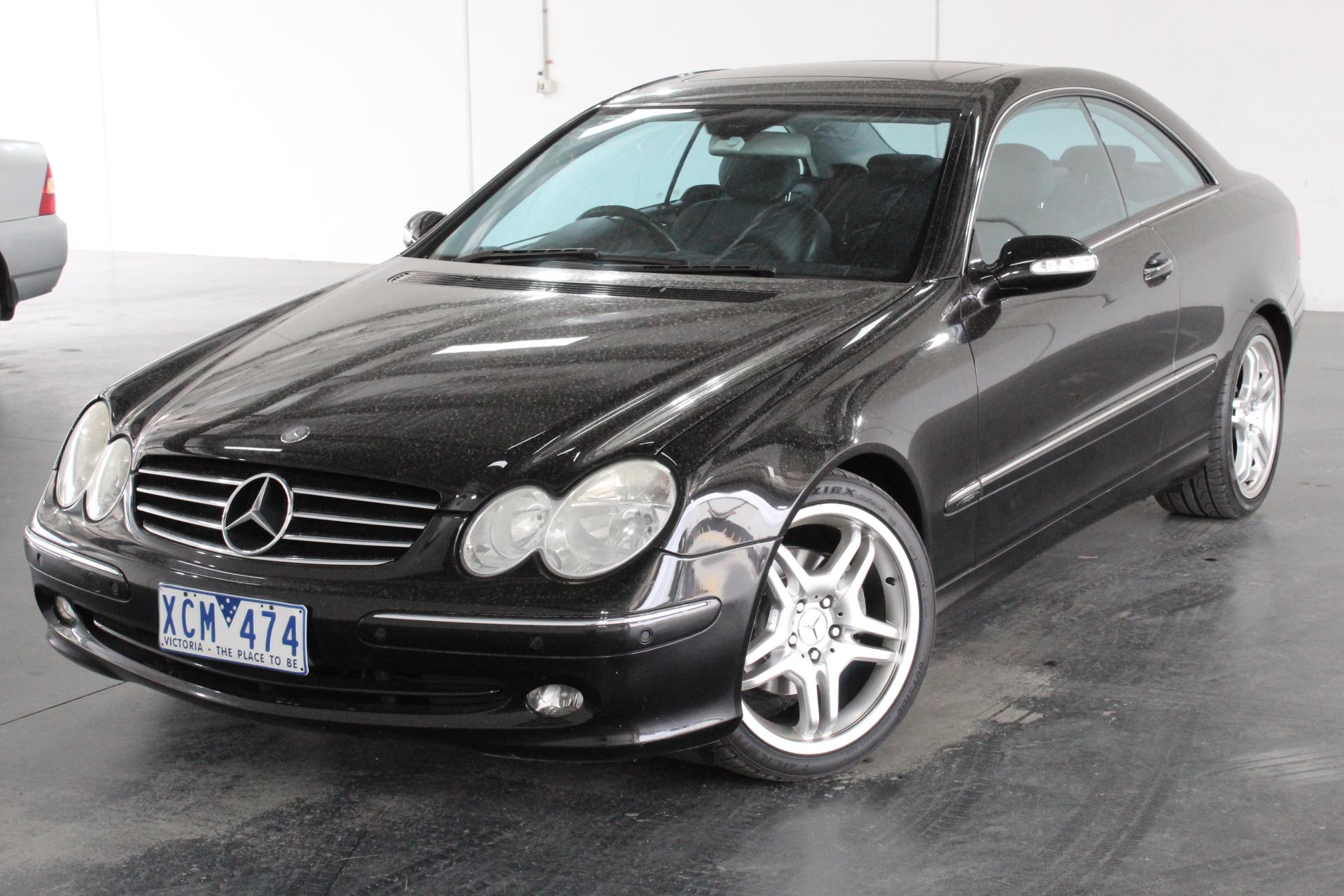 2004 Mercedes Benz CLK240 Avantgarde C209 Automatic Coupe