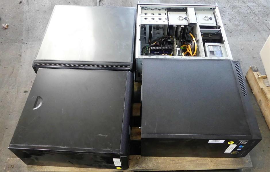 4 X Desktop Computers