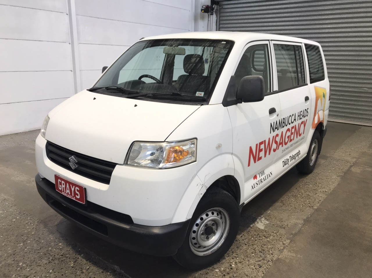 2012 Suzuki APV Manual Van