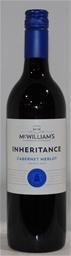 McWilliams Inheritance Cabernet Merlot 2019 (12 x 750mL) NSW.