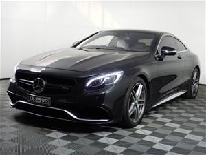 2015 Mercedes Benz S-CLASS S63 AMG C217