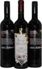 Pack of Assorted Portugese Red Wine 2010 (3x 750mL) Mixed Closure