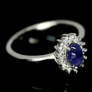 Lovely Genuine Tanzanite Ring.