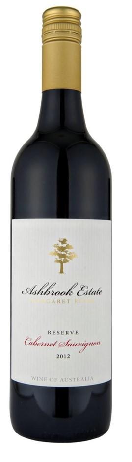 Ashbrook Estate Reserve Cabernet Sauvignon 2012 (12 x 750mL), WA.
