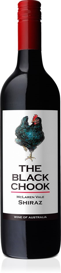 The Black Chook Shiraz 2017 (6 x 750mL), McLaren Vale, SA.