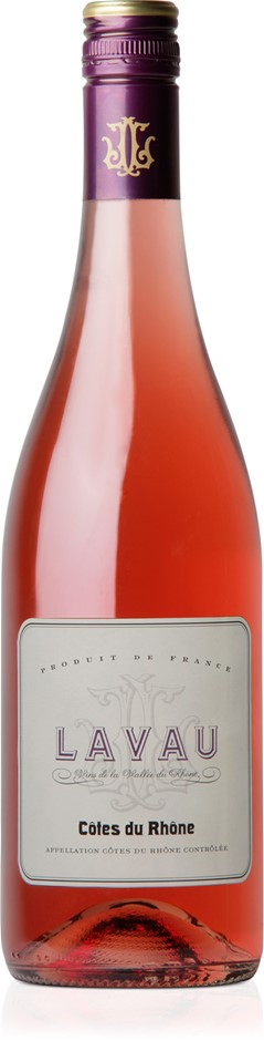 Lavau Rose 2018 (12 x 750mL) Cotes du Rhone, France