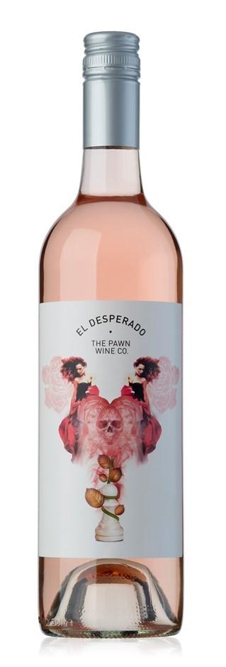 The Pawn Wine Co El Desperado Rose 2018 (12 x 750mL), Adelaide Hills, SA.