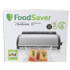 SUNBEAM FoodSaver Electric Sealer. (SN:C