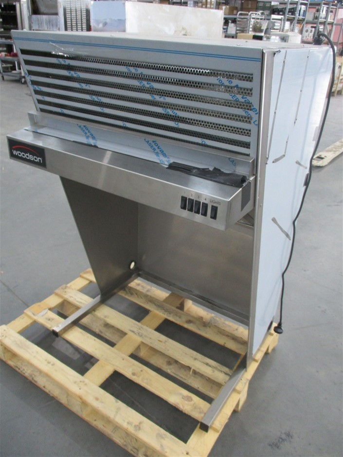 Woodson WCHD750B Stainless steel exhaust hood canopy
