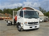 2014 Mitsubishi Fuso Fighter 1627 Crane Truck