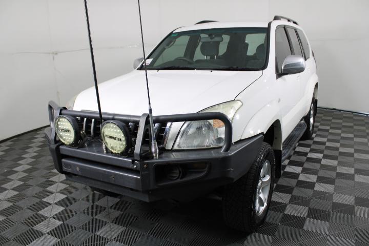 2005 Toyota Landcruiser Prado GXL (4x4) KZJ120R T/D Manual 7 Seats Wagon