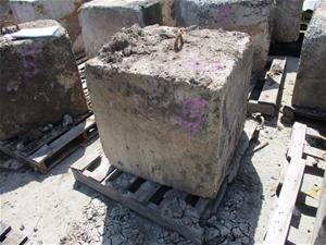 Concrete Blocks x 2