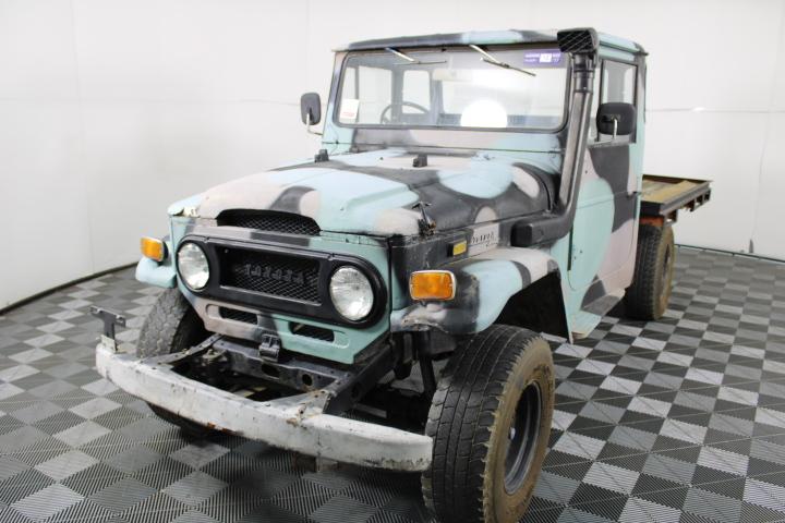 Toyota Landcruiser Manual Ute
