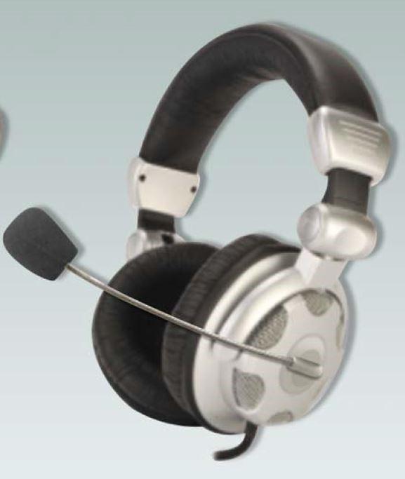 ABI Headphones with Mic DHP-1816MIC