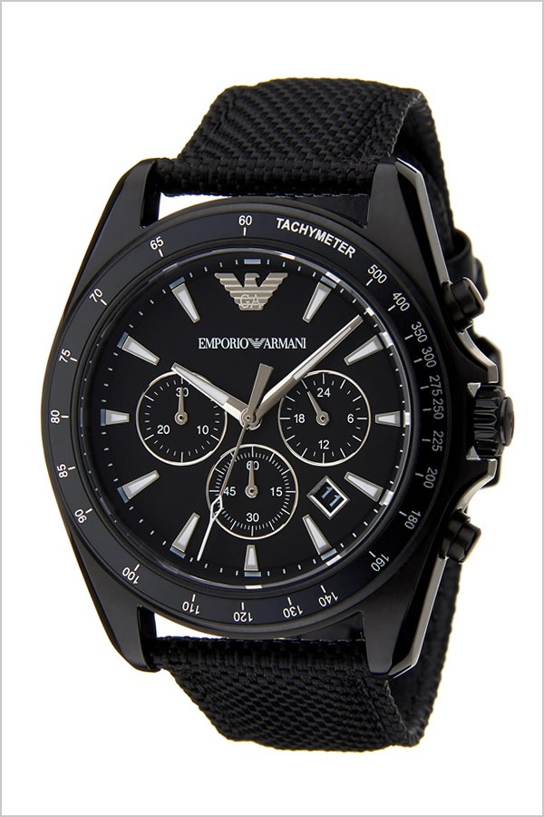 Sleek, new Emporio Armani Sigma Chronograph men's watch