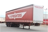 1997 Freighter ST3 Triaxle Tautliner Trailer