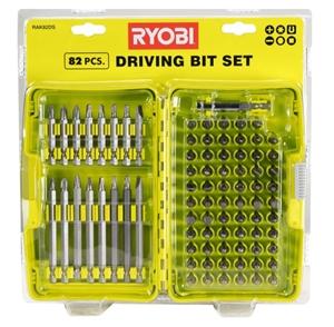 RYOBI 82pc Driving Bit Set. Buyers Note