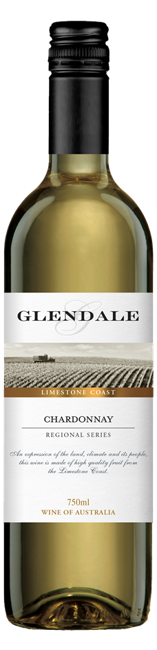 Glendale Limestone Coast Chardonnay 2018 (6 x 750mL) Limestone Coast, SA